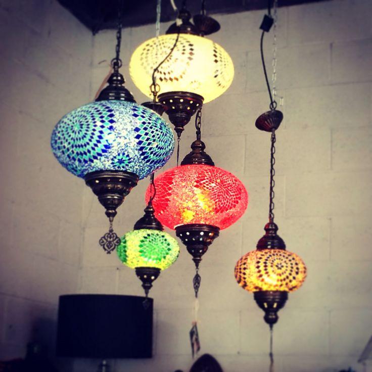 Morrocan style lanterns  handmade in Turkey !