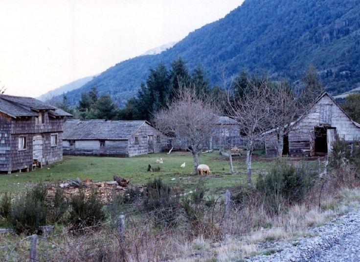 Casa de campo en Ralún, región de los lagos, Chile