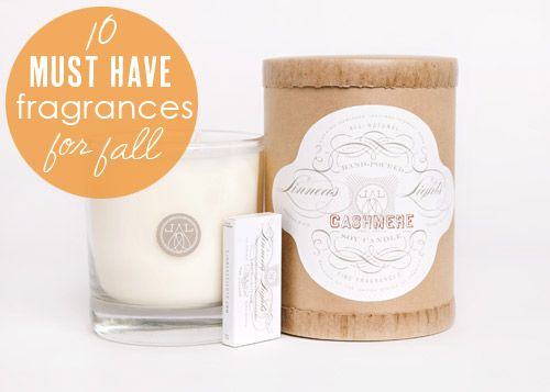 10 Must-Have Home Fragrances for Fall