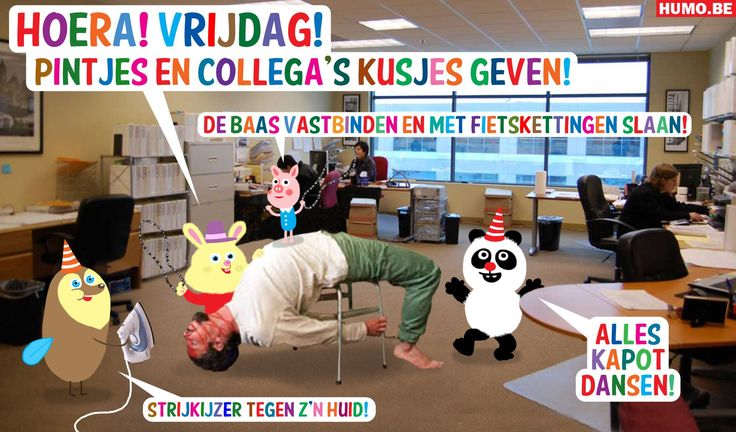 Belgisch weekblad 'Humo' introduceert op het oog onschuldige knuffeldieren die alleen maar koude pintjes willen drinken en dansen. Maar ze gaan over lijken.