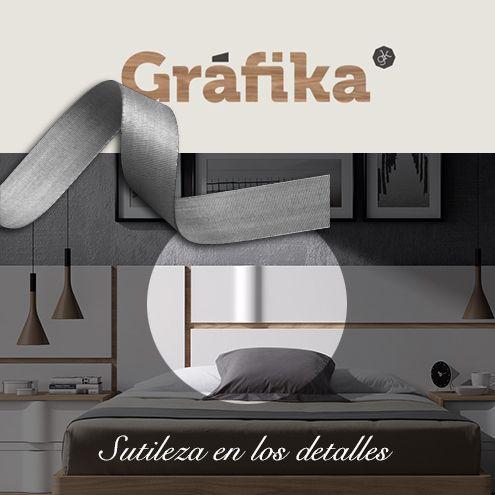 #Gráfika - dormitorios de diseño de #MueblesMesegue  Sutileza en los detalles...