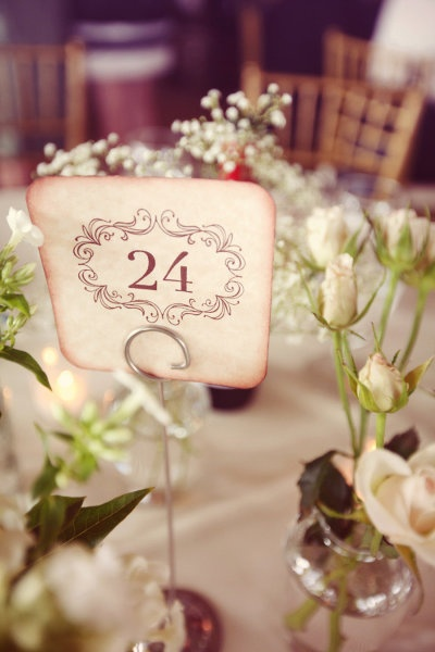 Classic Table Numbers. Beautiful Design.