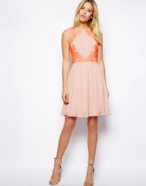 Image 4 of Ted Baker Dress in Lace
