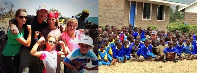 SiS Founder and baseball wife Karen Moyer discusses her recent journey to Africa in a SiS exclusive.  #SiS #BaseballWife #MLBWife #Charity #Africa #Kenya