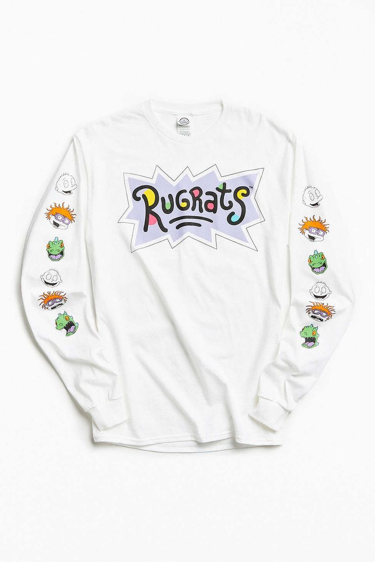 Rugrats Faces Long Sleeve Tee