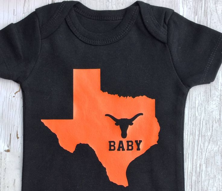 Love Texas Baby Onesie/ Texas Baby/ UT Baby/ Made in Texas/ Texas Baby Shower Gift by sunnyvilledesigns on Etsy https://www.etsy.com/listing/534752657/love-texas-baby-onesie-texas-baby-ut