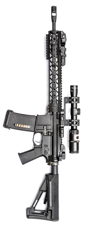 I like the minimalist, almost industrial design of the this light weight rifle... Rainier Arms Urban Carbine RUC. Photo by Stickman