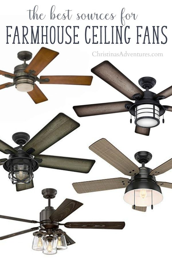 where to buy farmhouse ceiling fans online my dream home rh pinterest com