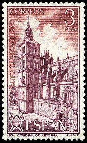 La Catedral de Astorga 1971 - Ano Santo de Compostela