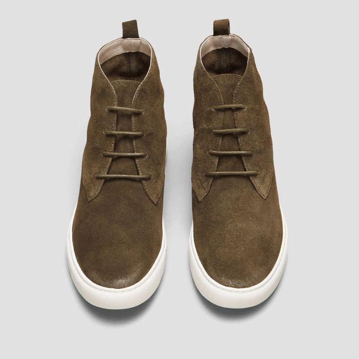 Kingwood Chukka Sneaker, OLIVE