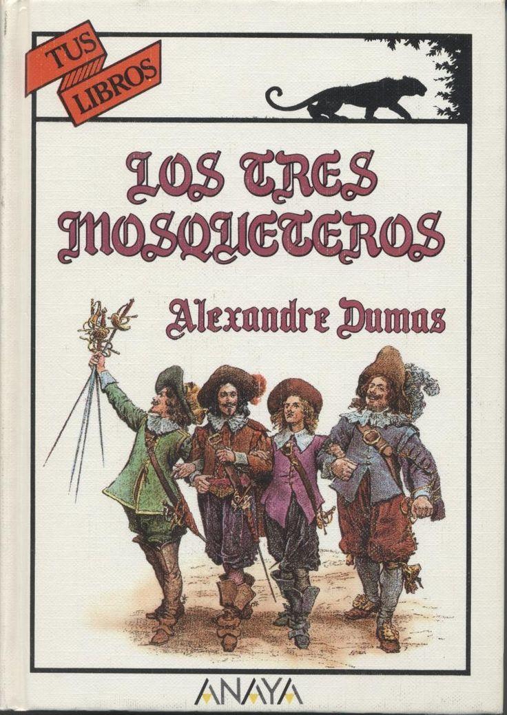 Los tres mosqueteros #literatura #clasicos #mosqueteros