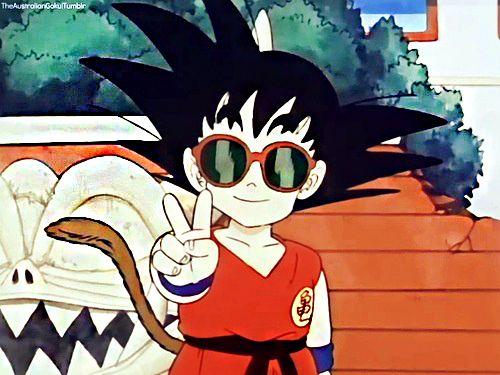 Goku with swag