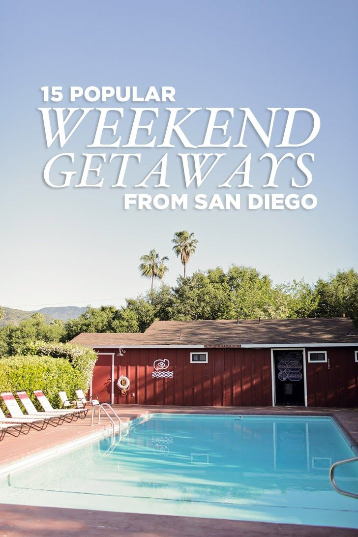 15 Popular Weekend Trips from San Diego // localadventurer.com