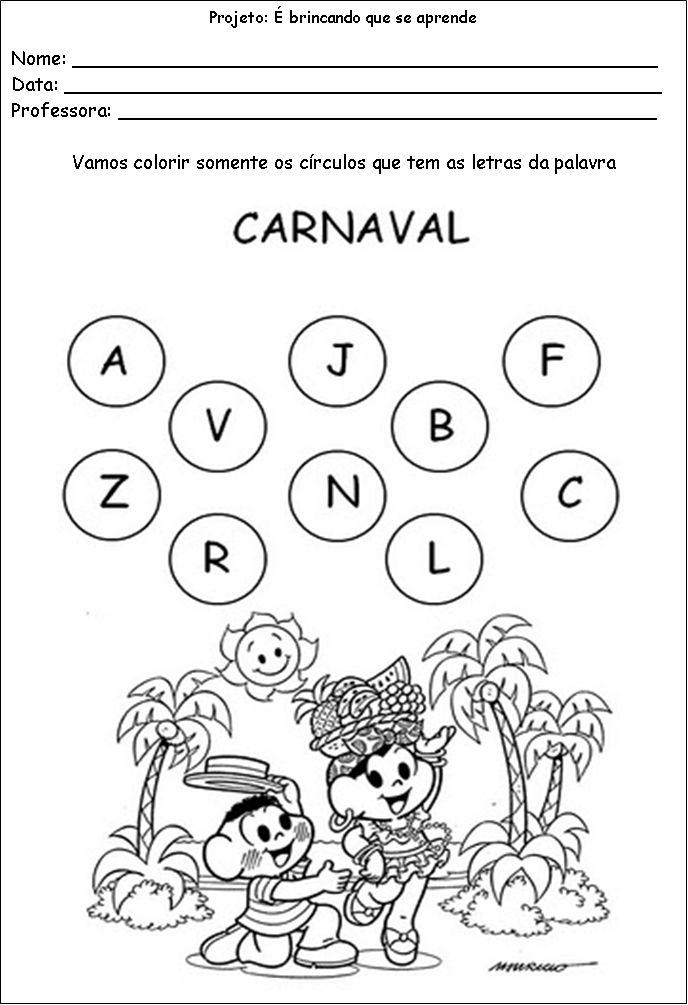 atividades de carnaval para educação infantil - Pesquisa Google
