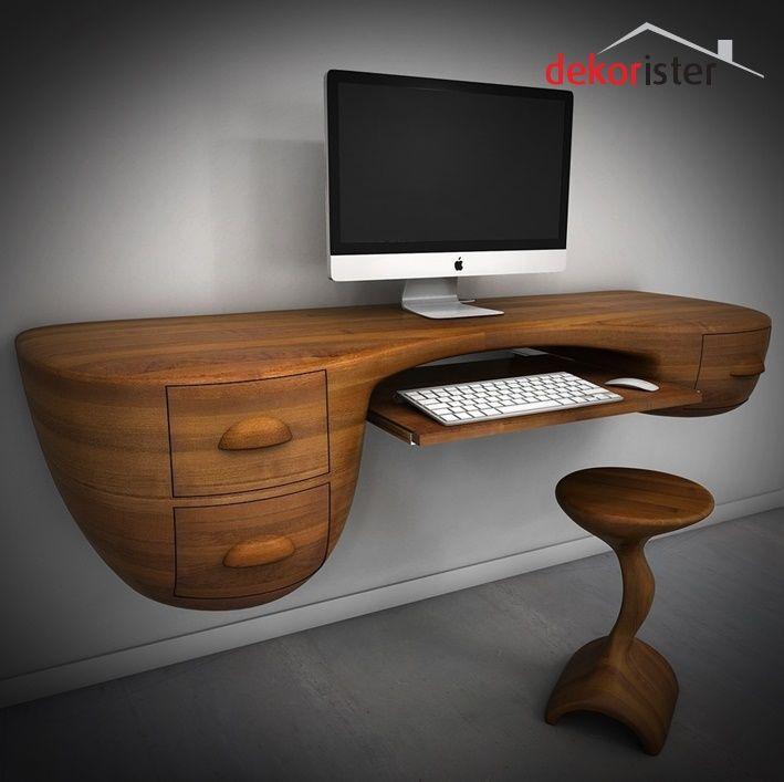 Modern çalışma masası oldukça kullanışlı olmasının yanında çalışma odalarınıza estetik ve modern bir görünüm kazandırıyor http://www.dekorister.com.tr/sayfa/modern-calisma-masasi