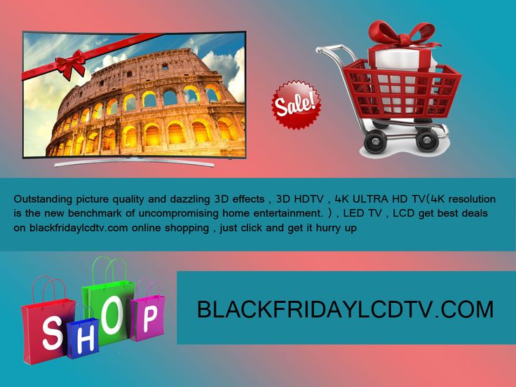 World's best deals only on Blackfridaylcdtv.com it's the easiest way for online shopping to get the best television here. Every television have their specialty and within your budget. A crystal clear picture quality of television like you gets the theatre feel experiences on your living, how cool we get a Blackfridaylcdtv.com in online shopping its now so easy to get a television here so simple too. http://goo.gl/JaomUs