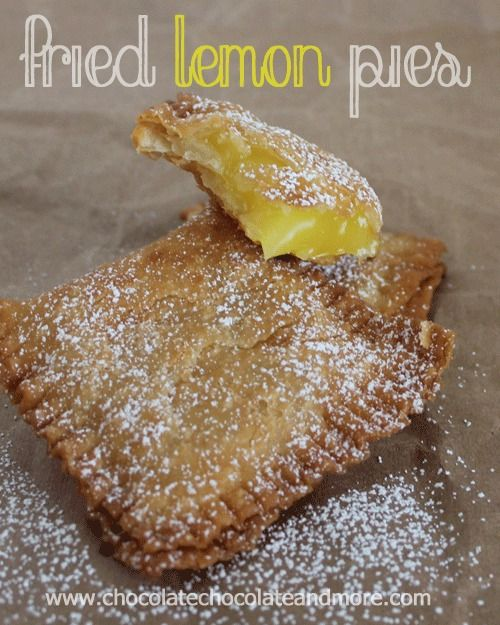 Fried Lemon Pies-just like you remember from childhood!