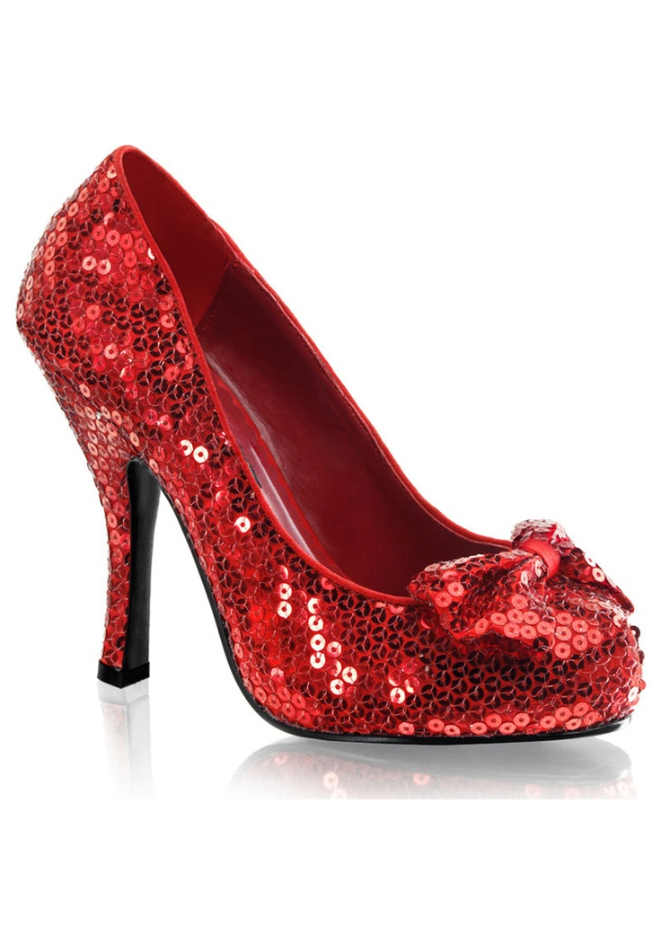 Red sequence heels