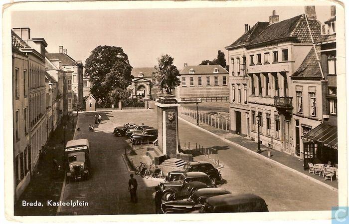 Breda - Kasteelplein - 1955.