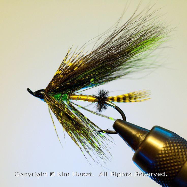 #Atlantic Salomon fly tying.
