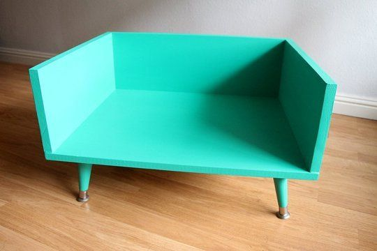 ... make a mid century style dog bed want a cool custom pet bed that