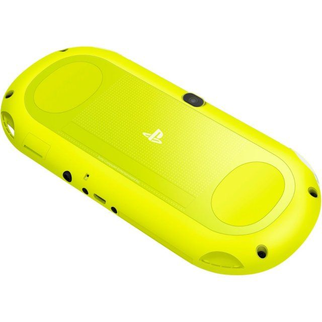 PS Vita PlayStation Vita New Slim Model (Lime Green / White)~available only in Japan right now.