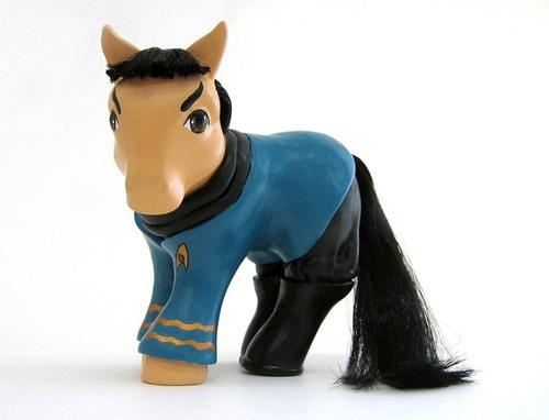 Spock Pony!Nerd, Mary Kasurinen, My Little Ponies, Stuff, My Little Pony, Funny, Stars Trek, Geekery, Spock Ponies