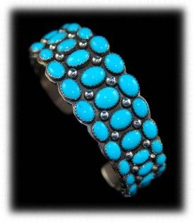 Sleeping Beauty Turquoise is one of the most sought after types of Turquoise on earth.
