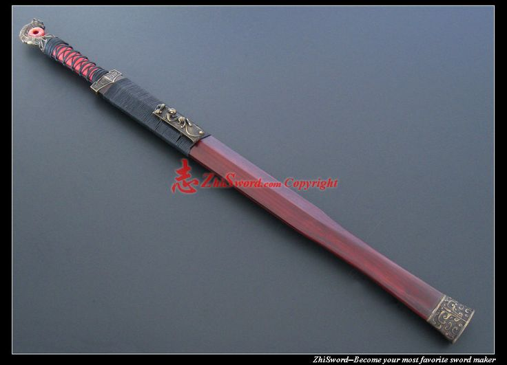 Hand Forged RED CLIFF II Chinese Jian Sword SJ336 - Click Image to Close