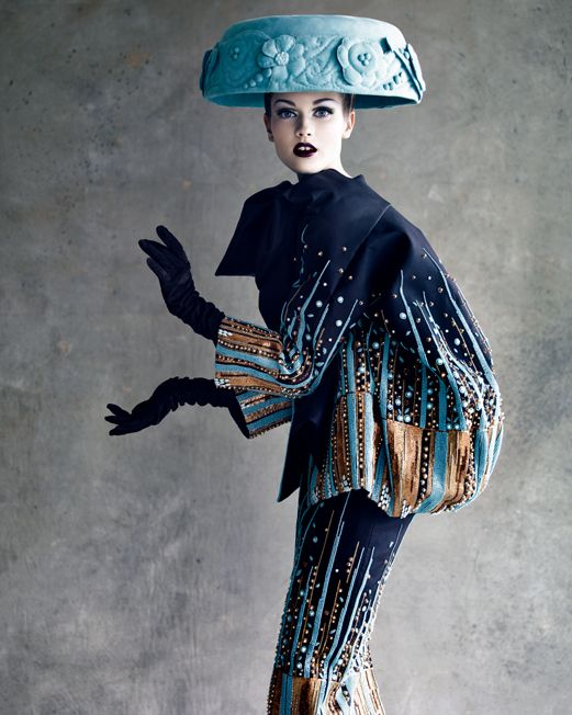 Photographs by Patrick Demarchelier    - Haute Couture creations from SS-48 and SS-08