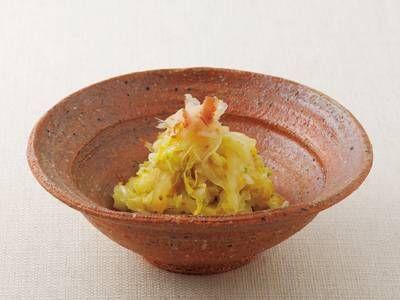 [白菜のおかか炒め] 料理レシピ|みんなのきょうの料理