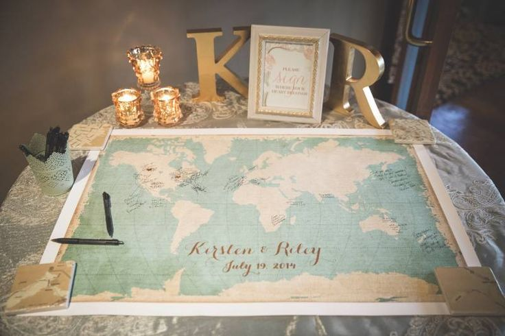 Romantic Champagne and Gold Wedding Decor Details ~ Calgary Bride