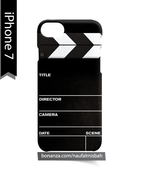 Director Clapboard iPhone 7 Case Cover Wrap Around