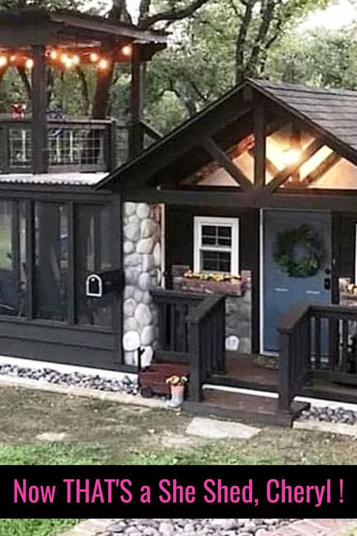 Shedquarters Backyard Office Ideas Shed Office Ideas She