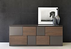 geometric sideboard design, modern furniture |www.bocadolobo.com #modernsideboard #sideboardideas