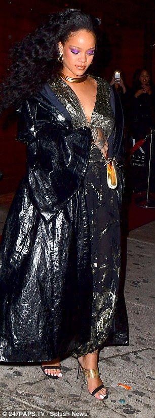 Grammys 2018: Rihanna celebrates win with Hassan Jameel   Daily Mail Online
