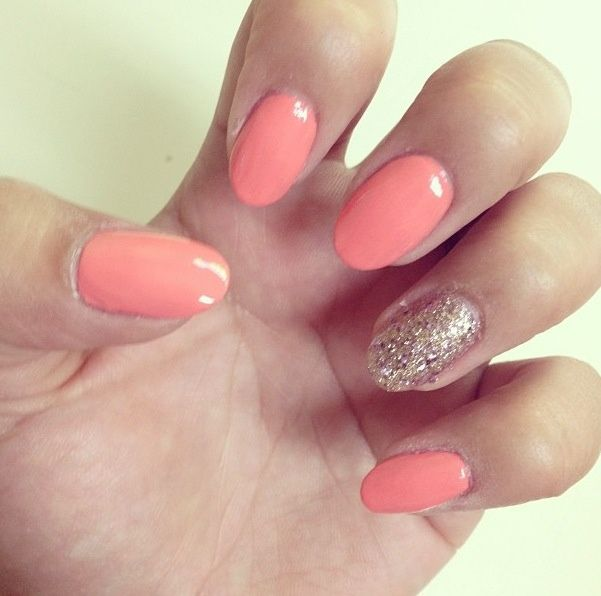 Ecbasket Acrylic Nail Tips Natural Fake Nails Short Oval: 17 Best Ideas About Oval Nails On Pinterest