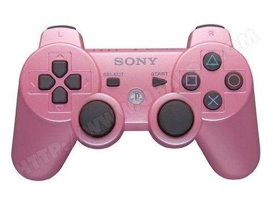manette ps3 sony dual shock 3 rose pink - Manette Ps3 Color