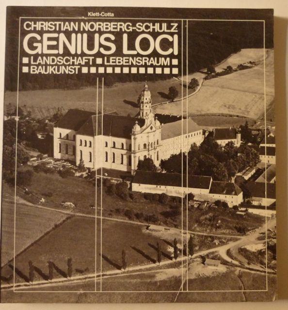 genius loci towards a phenomenology of architecture free pdf