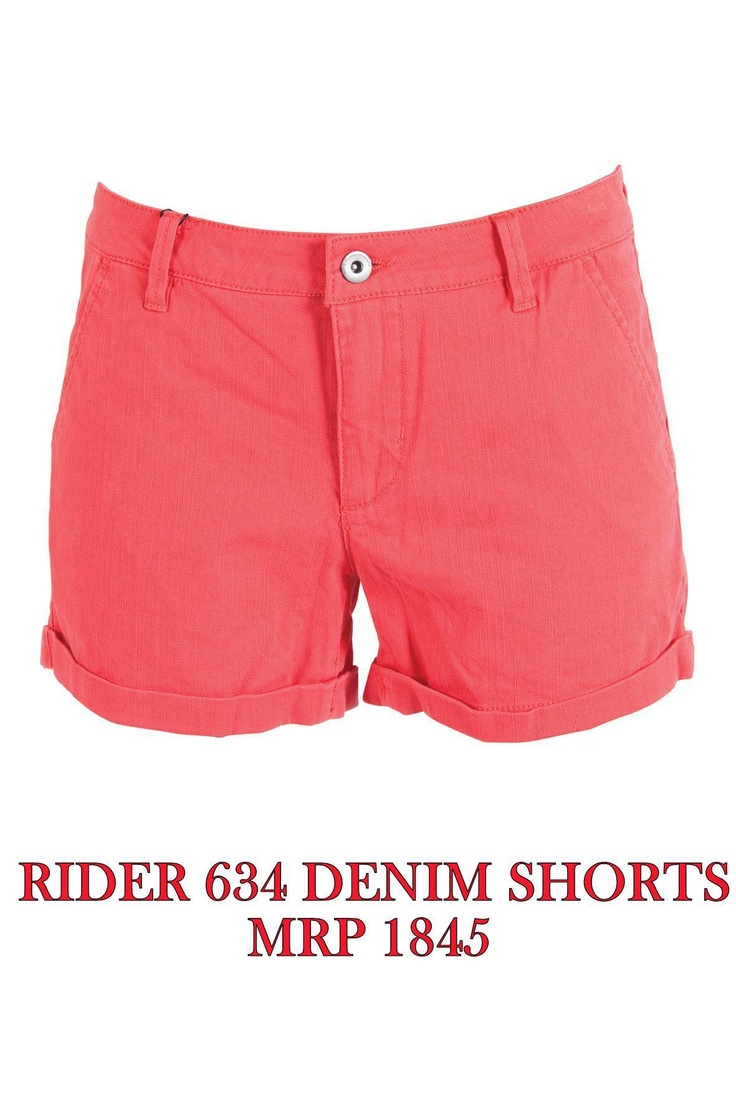 Rider 634 Denim Short - MRP 1845