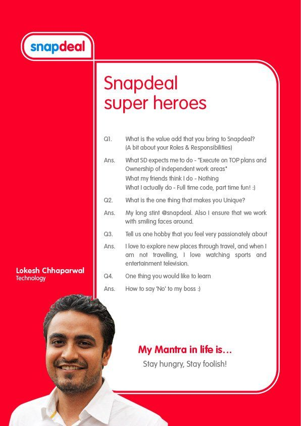 Snapdeal Diaries (@snapdealdiaries) | Twitter