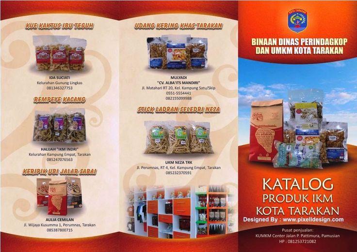 Contoh Desain Iklan Brosur Makanan