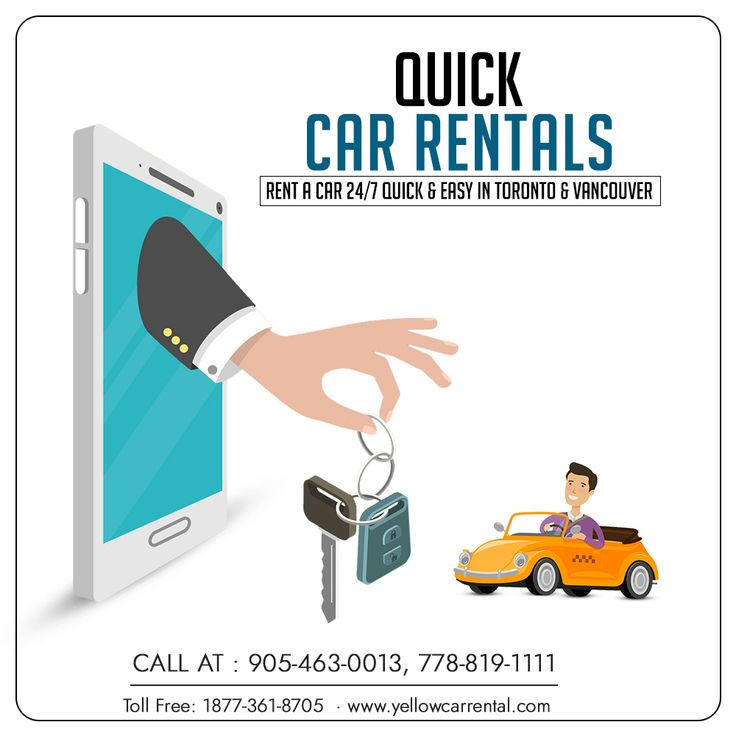 Quick Car Rental Car Rental Yellow Car Rental
