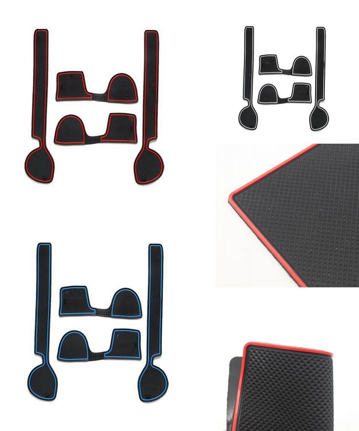[Visit to Buy] Dongzhen car Non-Slip Interior cup cushion Door Mat covers Cup Mat stickers Fit For Honda CRV 2008 to 2010 Door Groove Mat #Advertisement