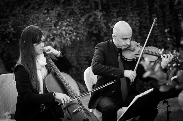 Esin & Jon |- ALMA PROJECT @ Castello di Vincigliata - Professional Live String Duo SC (Violin &Cello)