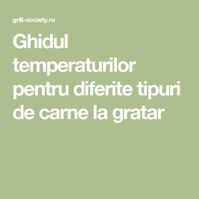 Ghidul temperaturilor pentru diferite tipuri de carne la gratar