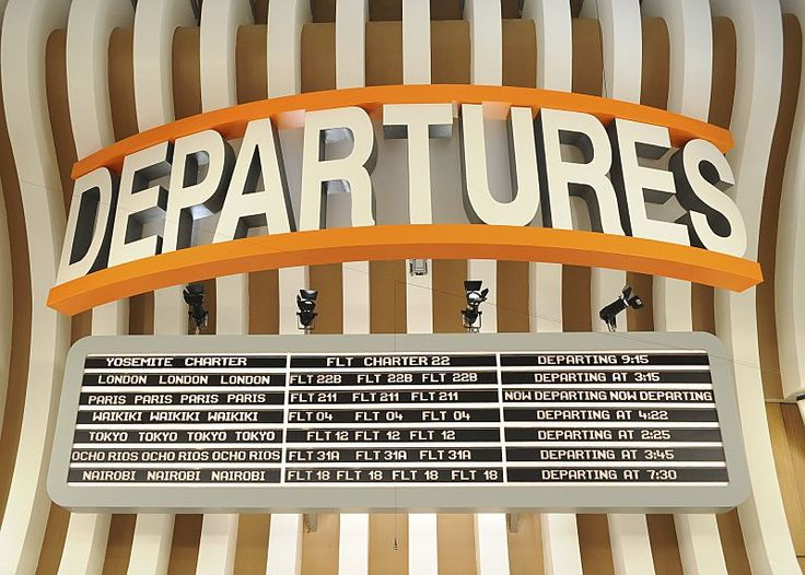 Big Brother 18 Departures sign