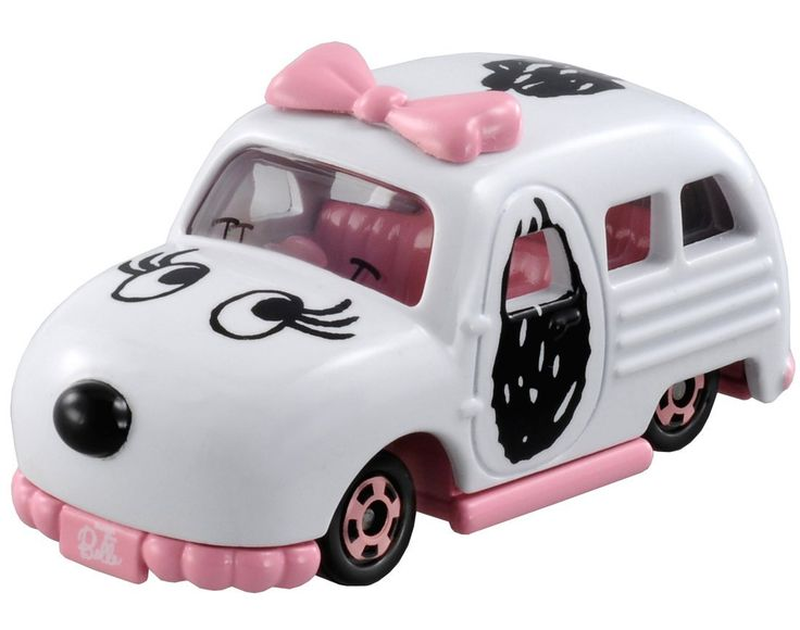 Take this imaginative Belle car by Takara Tomy for a spin. You can also find Peanuts school buses and a Snoopy car in the Dream Tomica line. Start shopping at CollectPeanuts.com and support our site!