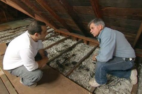 Save energy by using cellulose and fiberglass insulation to ramp up the insulation in your attic.