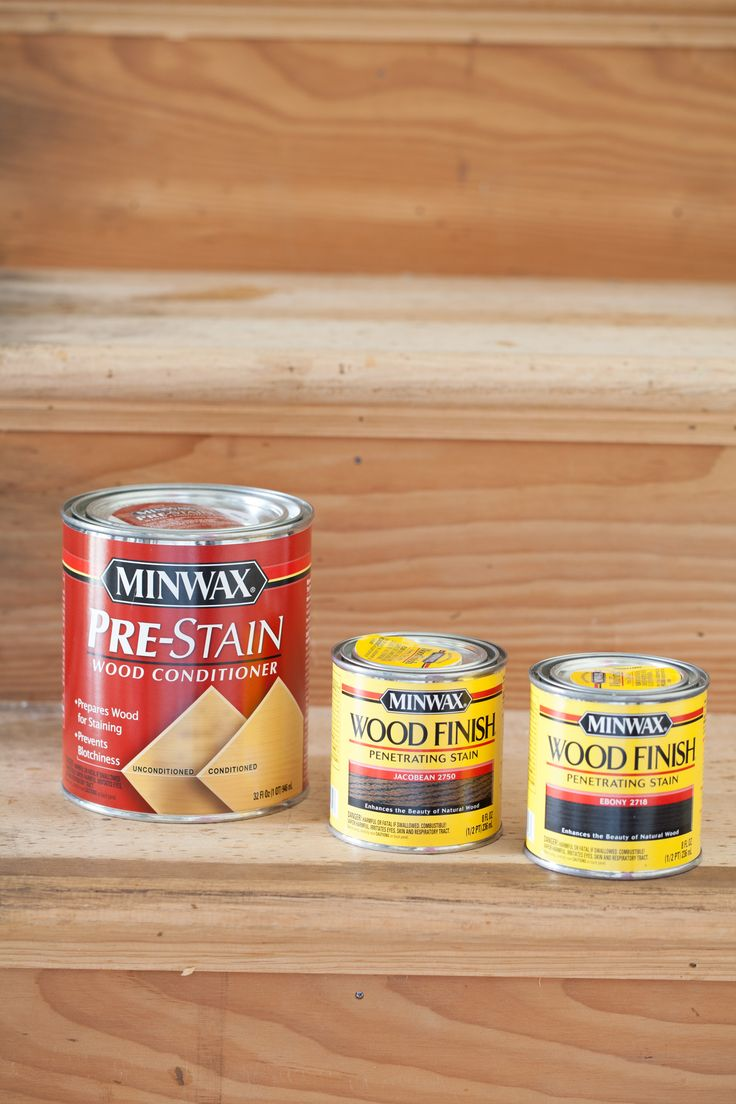 Best wood stain to use for staining steps in a staircase makeover
